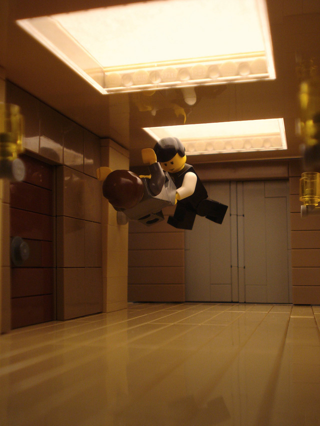Inception-Inspired LEGO Scenes by Alex Eylar