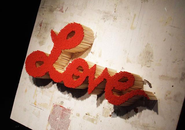 Burning Love by Pei-San Ng