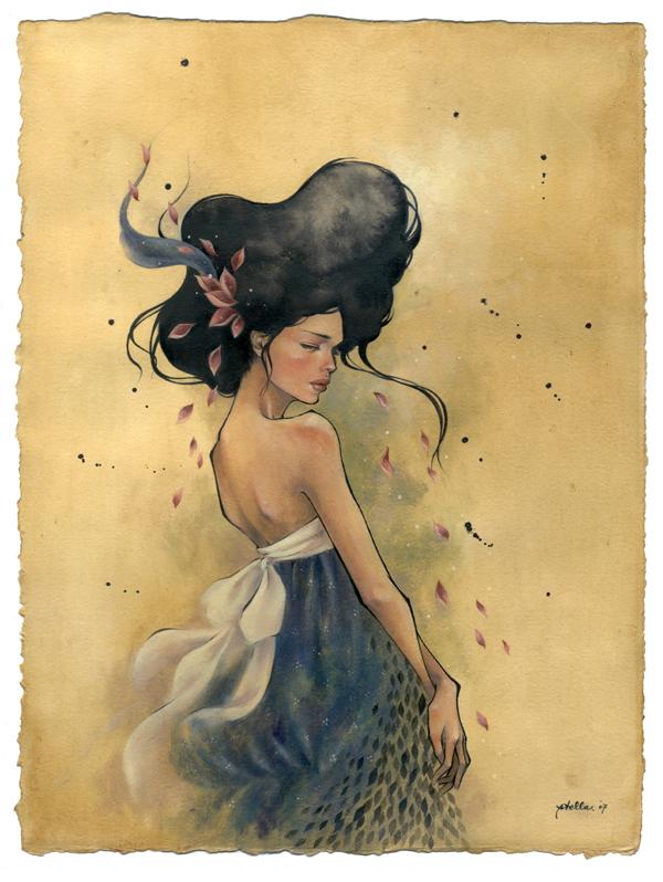 Paintings by Stella Im Hultberg