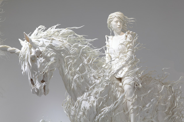 Sculptural works by Motohiko Odani