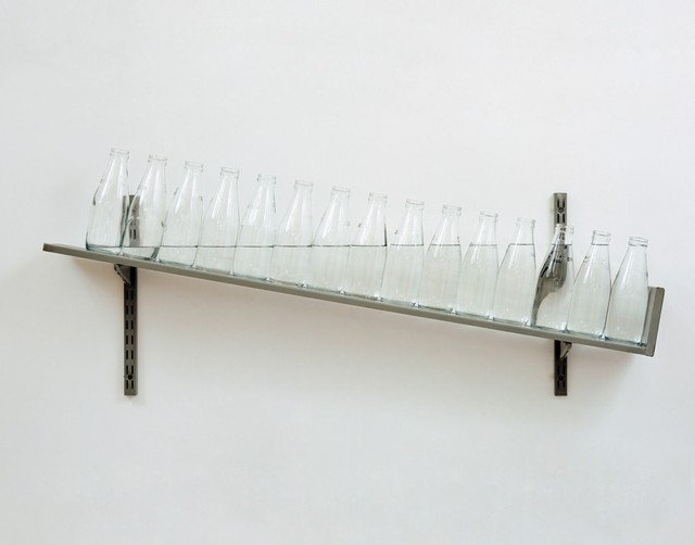 On the Shelf, 1970 by Michael Craig Martin