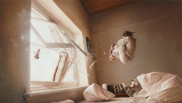 Paintings by Jeremy Geddes