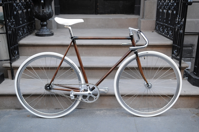 Bike frames by Rob's Woodgrain Bikes