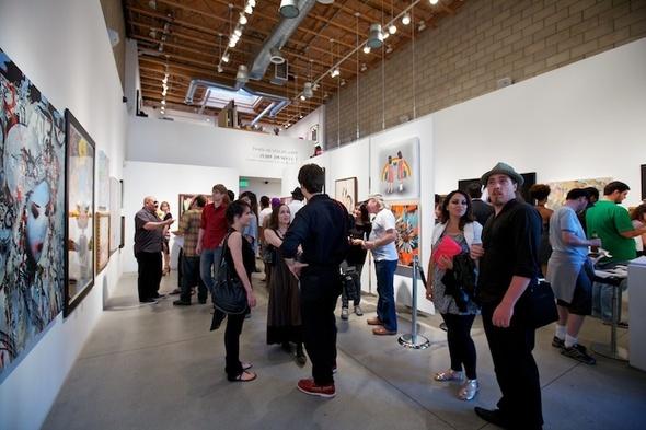 Zero to Sixty, pop surrealism group show in Corey Helford Gallery
